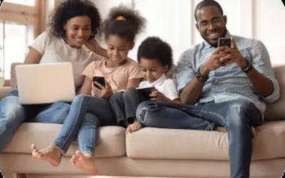 Travail à la maison : l'importance d'une bonne connexion Internet pour toute la famille